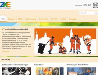 zke-sb.de screenshot
