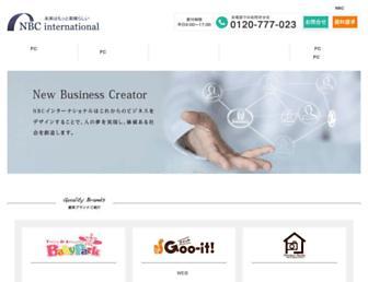 Main page screenshot of toez-i.jp
