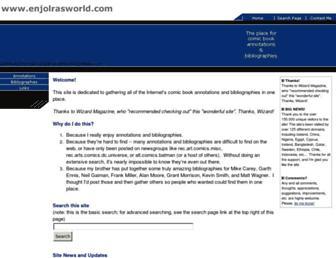 enjolrasworld.com screenshot