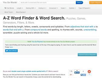yougowords.com screenshot