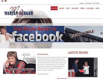 marjanberger.com screenshot