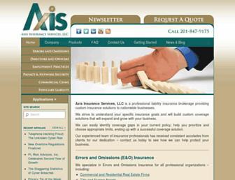 axisins.com screenshot