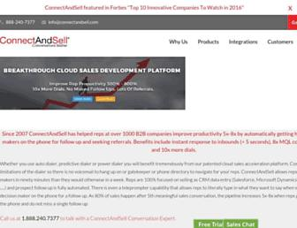 Thumbshot of Connectandsell.com