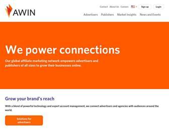 awin.com screenshot
