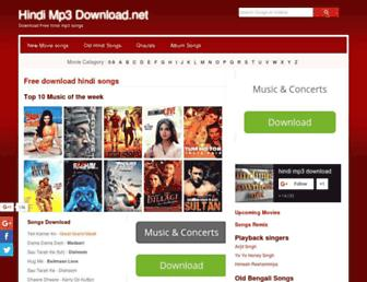 Thumbshot of Hindimp3download.net