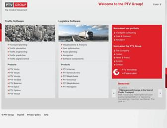 ptvgroup.com screenshot