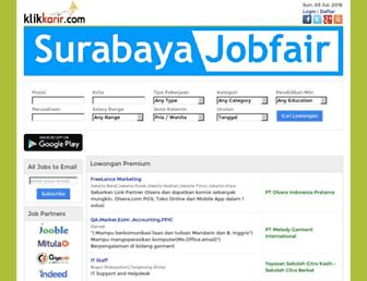 klikkarir.com screenshot