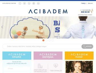 acibadem.com.tr screenshot