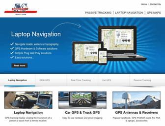 mightygps.com screenshot