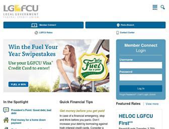 lgfcu.org screenshot