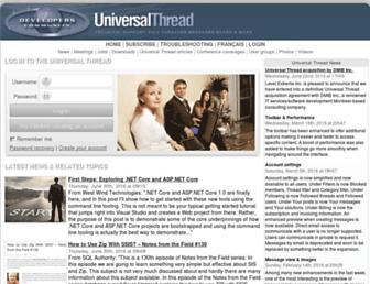universalthread.com screenshot