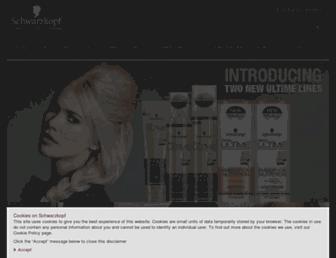 Thumbshot of Schwarzkopf.com