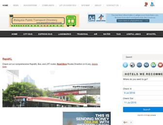 Thumbshot of Mypublictransport.com