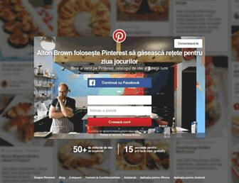 ro.pinterest.com screenshot
