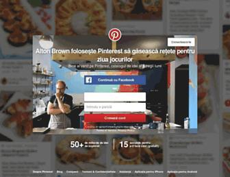 ro.pinterest.com screenshot
