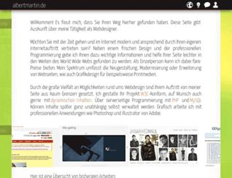 albertmartin.de screenshot
