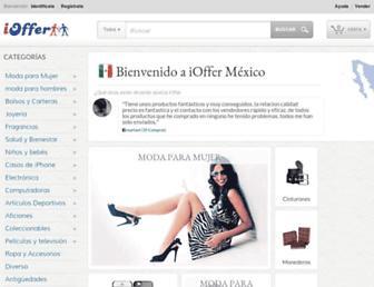 mx.ioffer.com screenshot