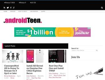 Thumbshot of Androidteen.com