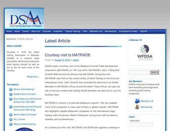 dsam.org.my screenshot