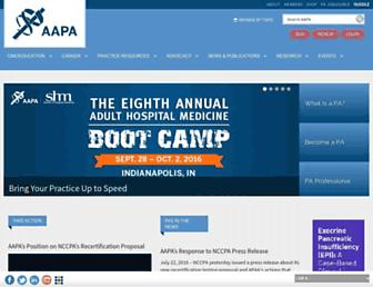 aapa.org screenshot