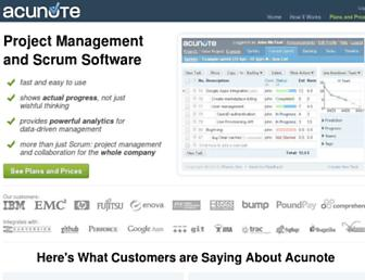 Thumbshot of Acunote.com