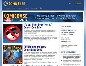 comicbase.com screenshot