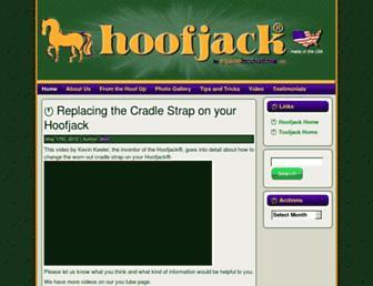 Main page screenshot of hoofjack.info
