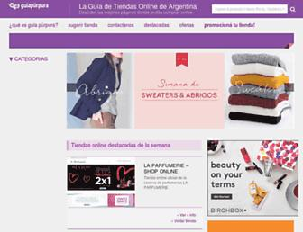 guiapurpura.com.ar screenshot