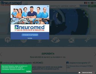 neuromed.ro screenshot