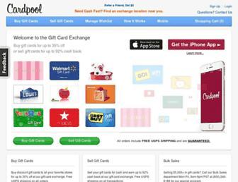 Thumbshot of Cardpool.com