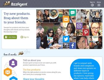 Thumbshot of Bzzagent.com