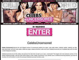 Thumbshot of Celebsuncensored.com