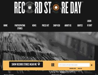 recordstoreday.com screenshot