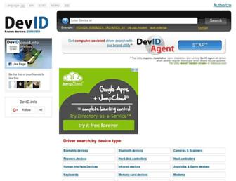 devid.info screenshot
