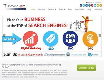 tecmoz.com screenshot