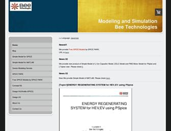 bee-tech.info screenshot