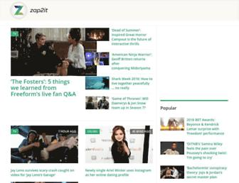 Thumbshot of Zap2it.com
