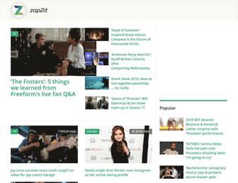 Thumbshot of Zap2it.com