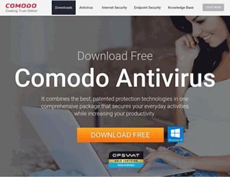 antivirus.comodo.com screenshot