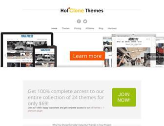 Thumbshot of Hotclonethemes.com