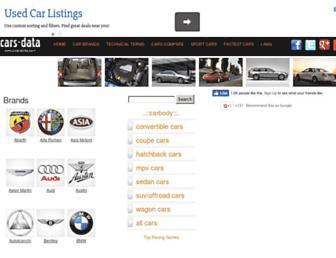 cars-data.com screenshot