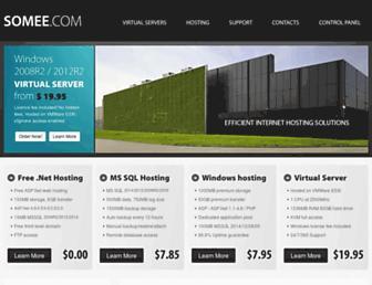 Thumbshot of Somee.com