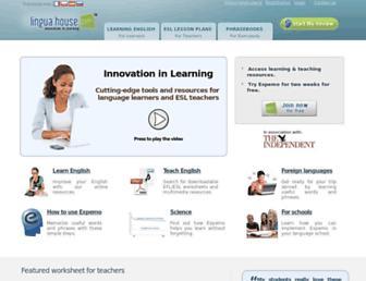 linguahouse.com screenshot