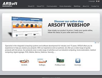 us.arsoft-int.com screenshot