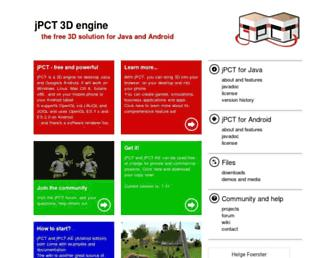 jpct.de screenshot