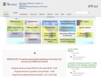 apmis.anpm.ro screenshot