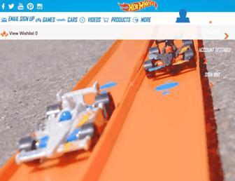 hotwheels.com screenshot
