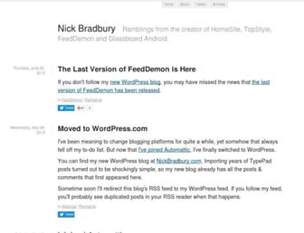 nick.typepad.com screenshot