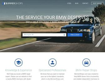 bimmershops.com screenshot