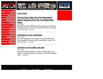 canadianbasketball.net screenshot